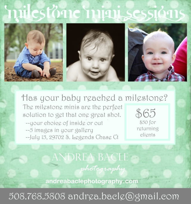 milestone mini-sessions the woodlands spring tx