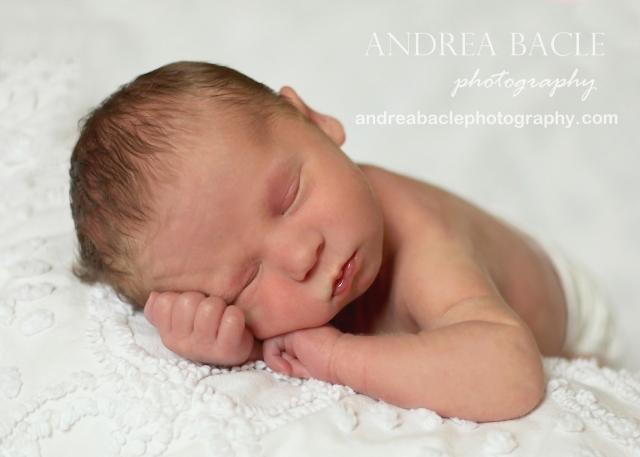 white blanket and background newborn baby