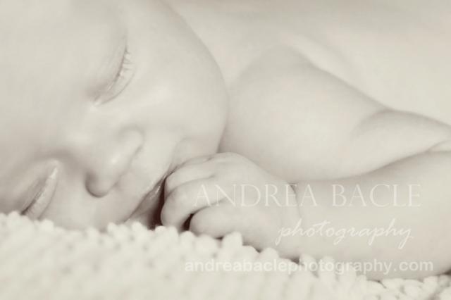 newborn baby girl photographer smile the woodlands tx