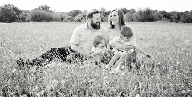 family bluebonnets 2015
