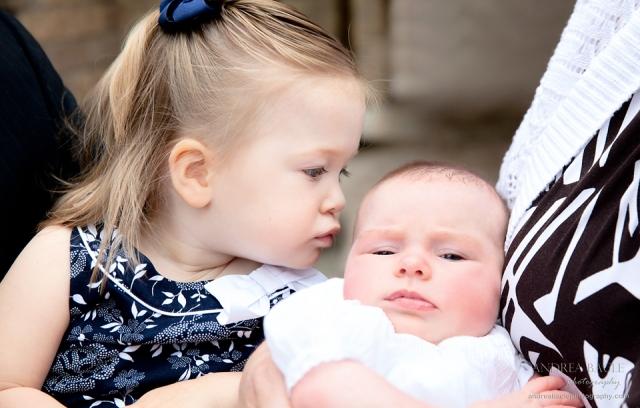 blog post christening st john vianney chapel houston sisters together