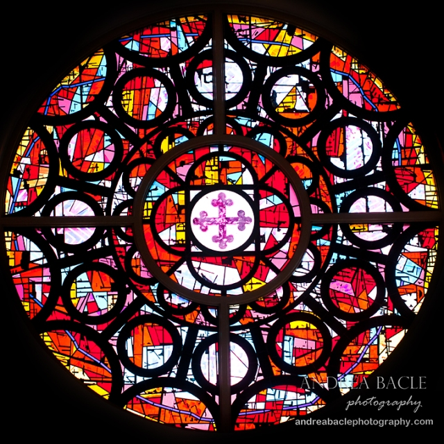 blog post stained glass houston chapel