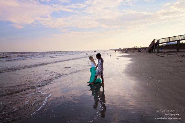 best friends holding hands galveston beach01