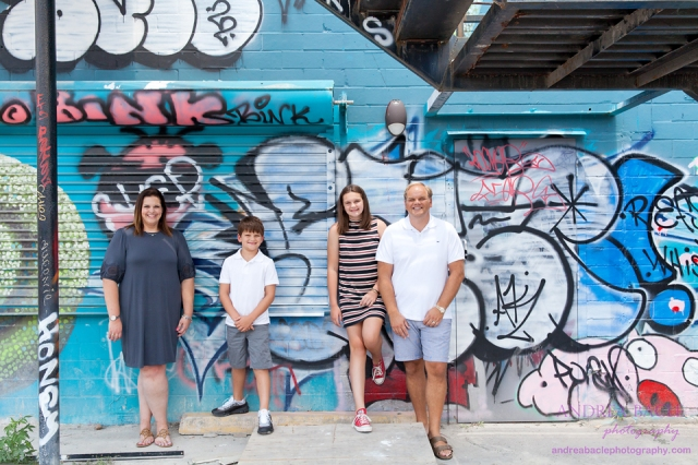 houston mural park family session