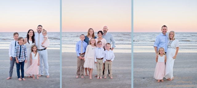 galveston big family sessions andrea bacle