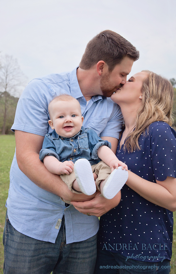 spring creek family session andrea bacle