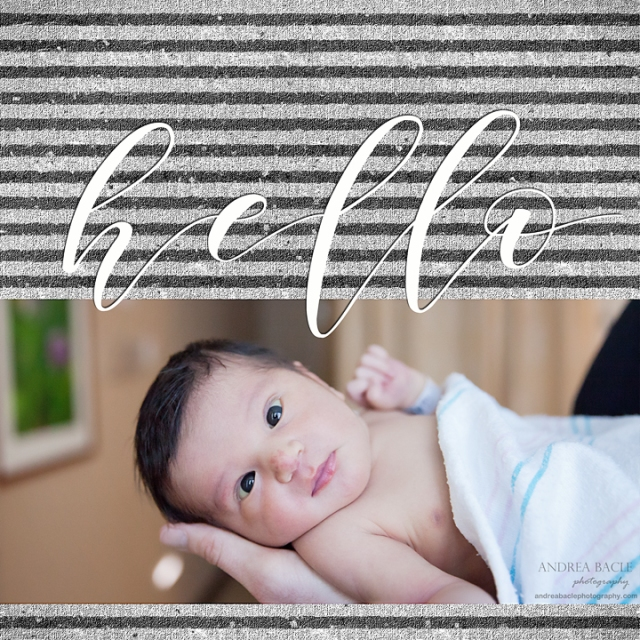 hello andrea bacle photography newborn hospital