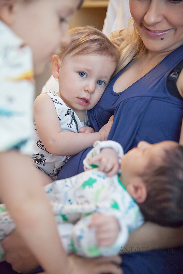 newborn hospital session andrea bacle