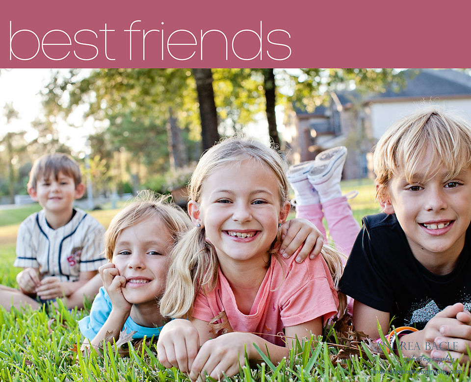best friends session with andrea bacle photography